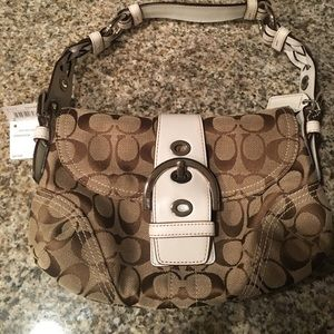 COACH soho signature handbag